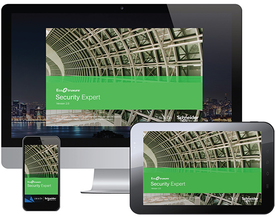 Ecostruxure Security Expert Software