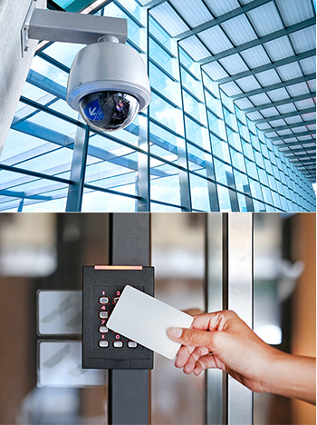 CCTV and Card Reader Security